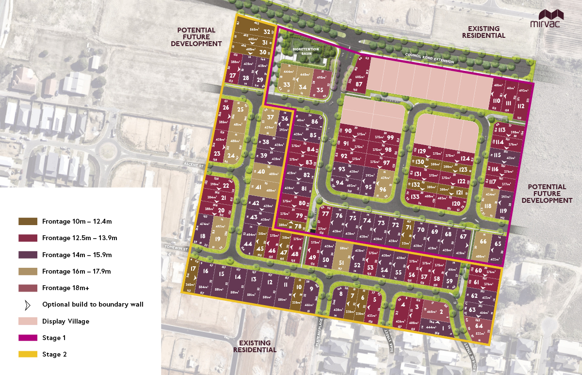 Hydeberry Lot Plan